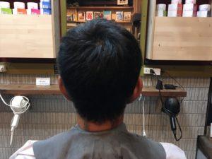 震災刈りメンズカット鹿児島メンズショートヘア