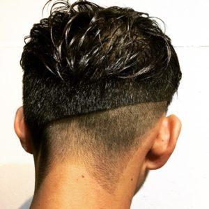 シンプル3ブロックヘアスタイル