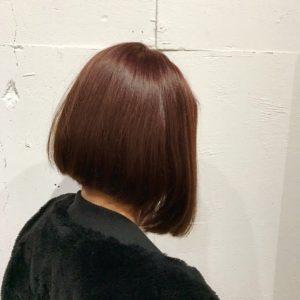 鹿児島美容室高校生ブリーチ失敗ムラ修正カラースロウピンクブラウン