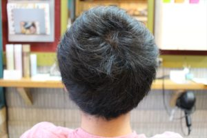 【後髪ビフォー】鹿児島 男性 髪型 スーツに似合う
