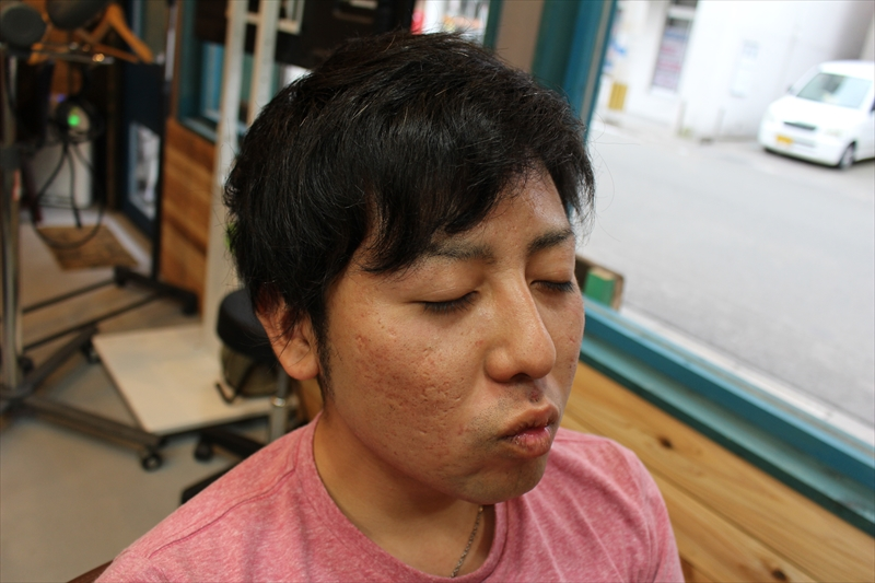 【前切る前】鹿児島 男性 髪型 スーツに似合う