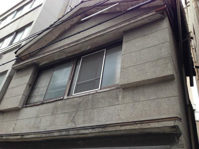 NOコーティングのむき出し「塗り壁」塗装前の外観