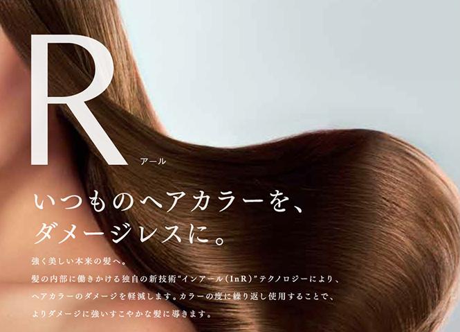 Rシステムヘアカラー